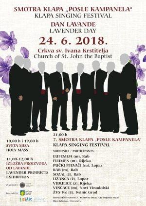 coro a cappella - isola di Rab - Croazia